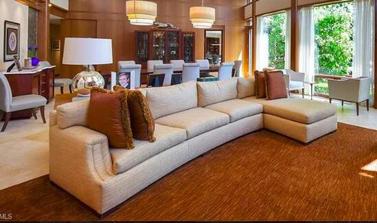 Gorgeous Cream Chaise Sectional