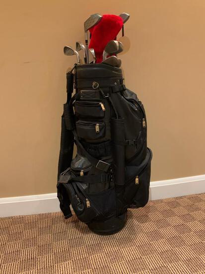 Bullet Black Golf Bag