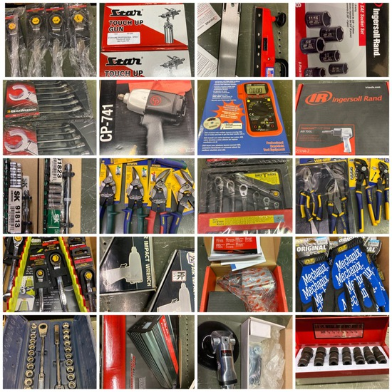Online-Only Retirement/New Tools Christmas Auction