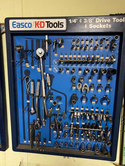 Easco/KD Tools Display Rack w/ assorted brands of tools