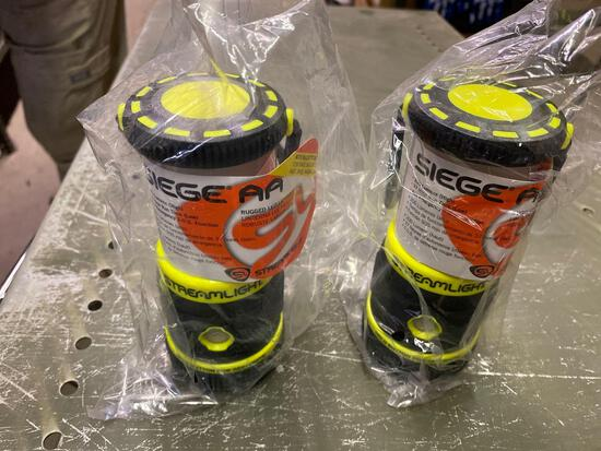 2 Siege Co Magnetic Streamlight Lanterns