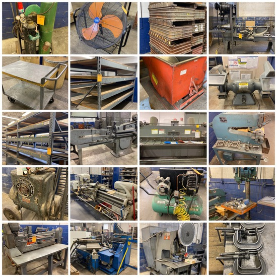 Metal Spinning-Job Shop•Lathes/Punches/Shears/More