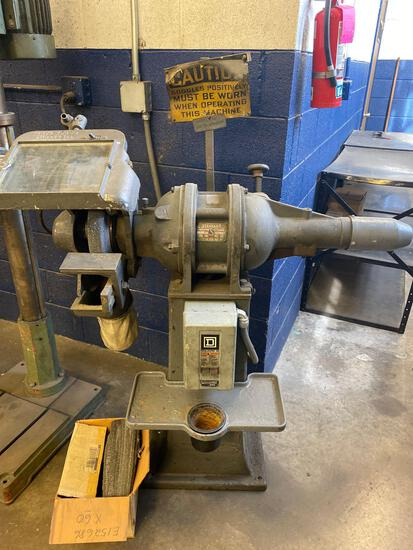Standard Electrical Tool Co Large Pedestal Grinder