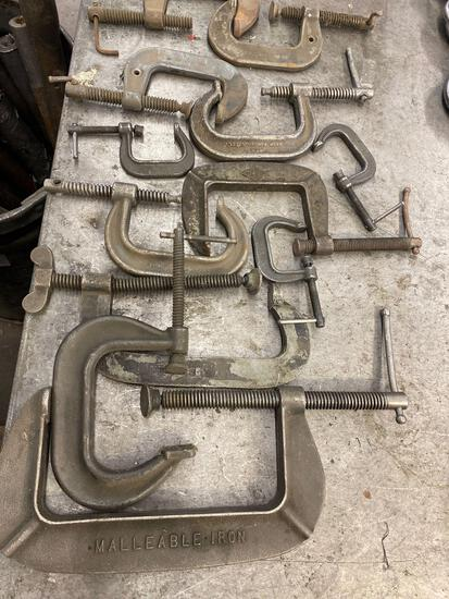 Assorted mix and match C Clamps