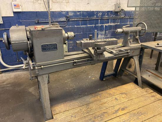 Haag Machine Co Spin Master 22in Spinning Lathe