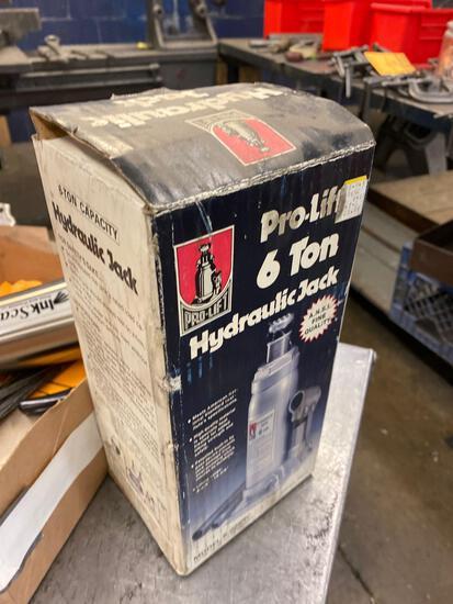 ProLift 6 ton bottle jack. Used.
