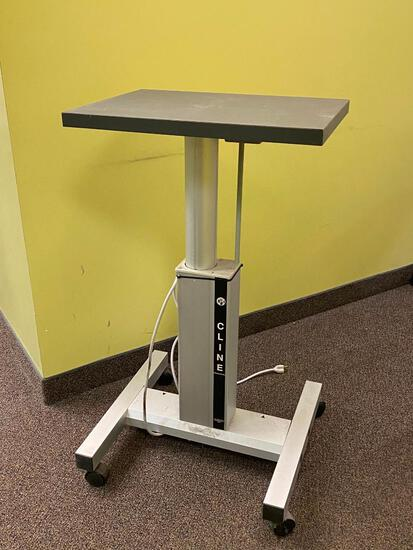 Cline Mobile Adjustable Ophthalmic Table