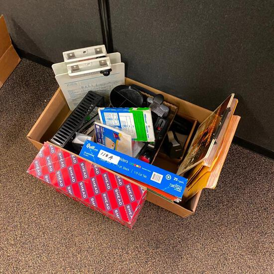 Misc. Box of Office Supplies