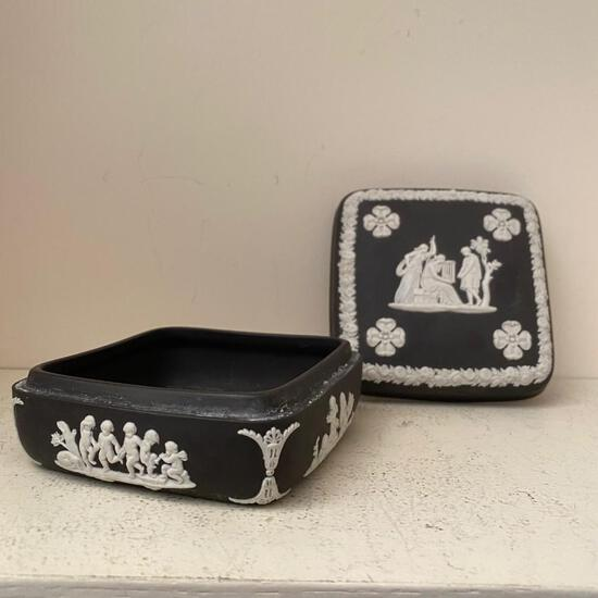 Charcoal Wedgewood Box