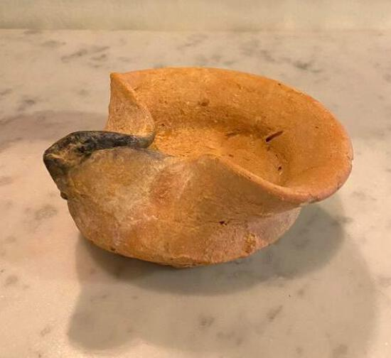 Antique Judaica Oil Lamp from 1000 - 900BC