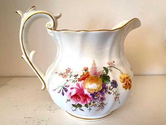 Royal Crown Derby A228 Gilded Floral Tea Pot