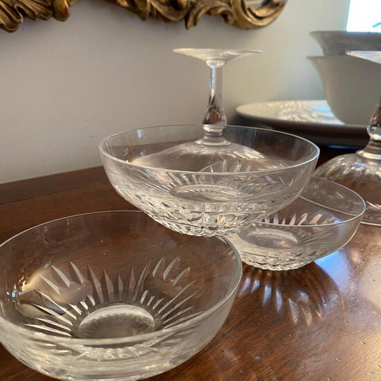 Lot of Crystal Glass Bowls