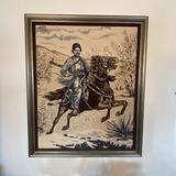 Original Equestrian Needlepoint