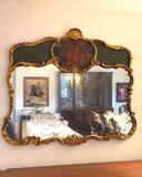 Large Gilded Rococo Mirror