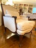 Extra large side chair