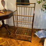 Brass and Copper Bookcase