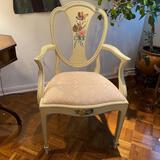 Hand painted side chair