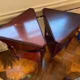 Matching pair of side tables