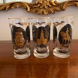 10 Painted Water Glasses