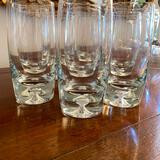 Large lot of weighted glasses three different sizes