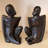 Wooden Statues from Kenya Africa