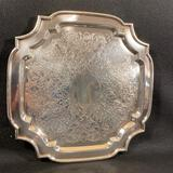 Silver Colored Platter