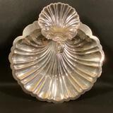 Silver Colored Serving Tray