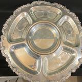 Silver on Copper Raised Platter