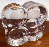 Crystal Sculpture by Artist Yan Zoritchak for Daum France