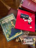 Huge Vintage Game and Puzzle Lot