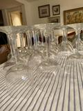 Huge stemware and plate lot