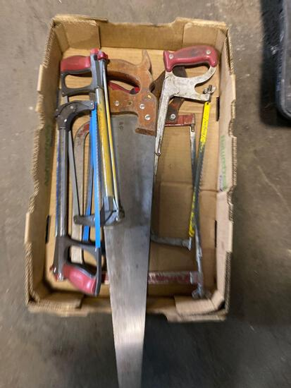 Assorted saw lot