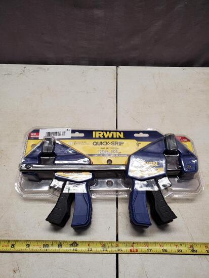 NEW set of Irwin Quick-Grip clamps