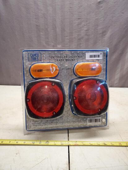 12 volt trailer light set