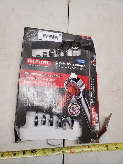6 piece metric wrench set