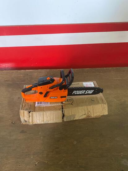 Kids toy play battery chainsaw