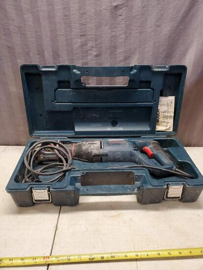 Bosch Sawsall with case, works, small nick in cord