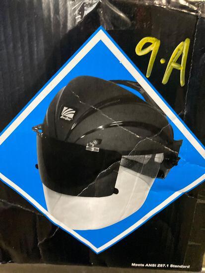 New in box, ArcOne Co flip front welding shield