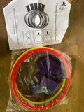 Plastic Hopscotch Ring Set