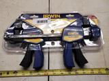 Irwin Quick Grip clamp set