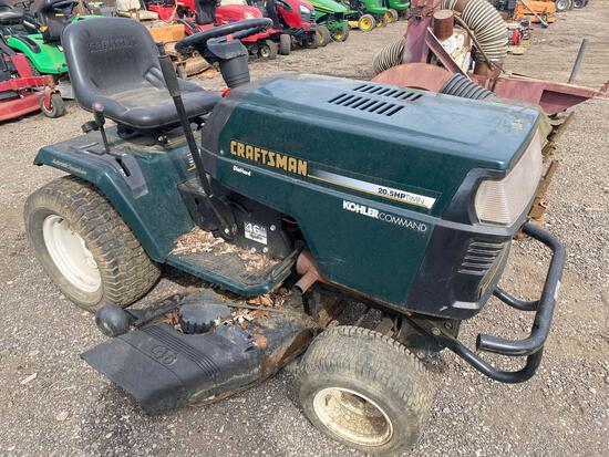 Craftsman 20.5 hp Riding Lawn Mower