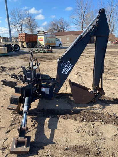 Bradco 11MD2 Hydraulic Skidloader Backhoe Attachment