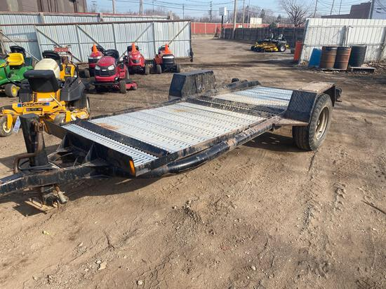 15ft x 56in HD Landscape Single Axle Trailer