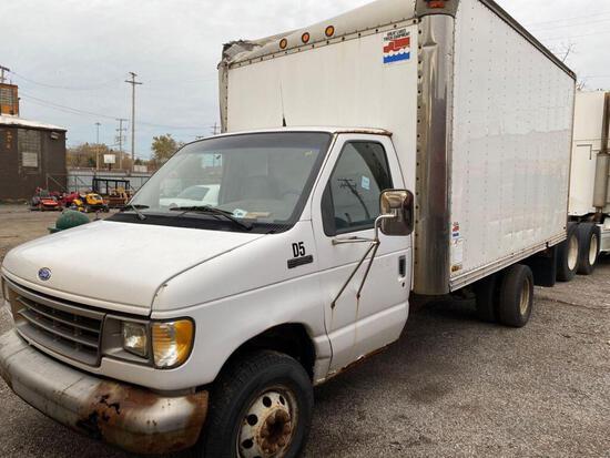 1995 Ford Econoline Cutaway Box Truck