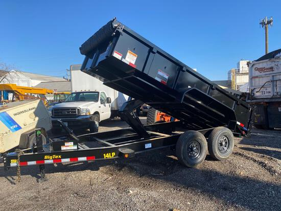 2021 NEW BIG TEX Model 14LP Tandem Axle Dump Trailer