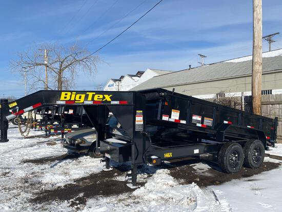 2021 NEW BIG TEX Model 14GX Tandem Gooseneck Dump Trailer
