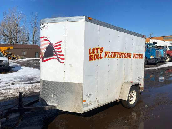 Haulmark 10ft Enclosed Box Trailer