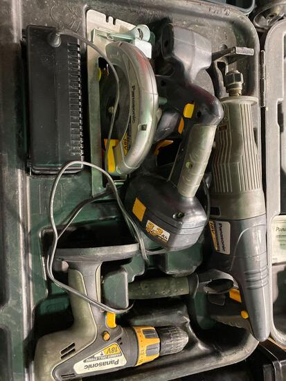 Panasonic 18v Cordless Tool Set