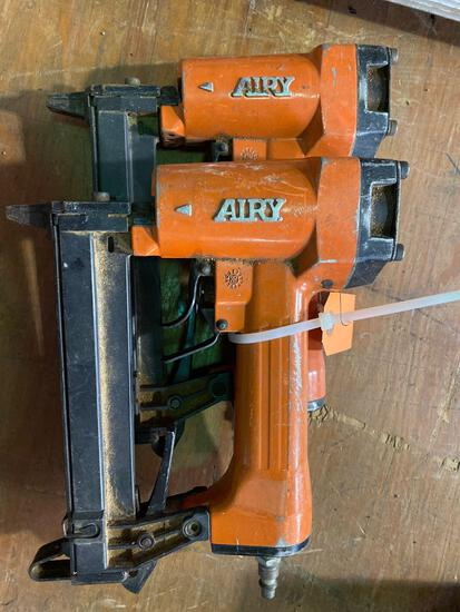 (2) Airy Co Pin Nailers