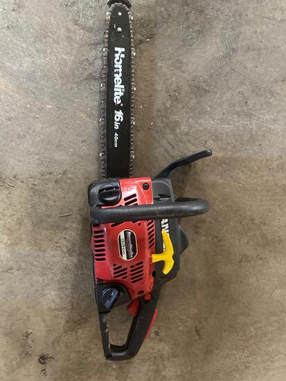 Homelite Ranger Chainsaw w/ Case